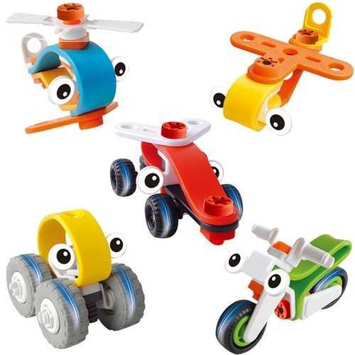 DIY Plastic Nut Combination Block Toys For Kids Children Gift