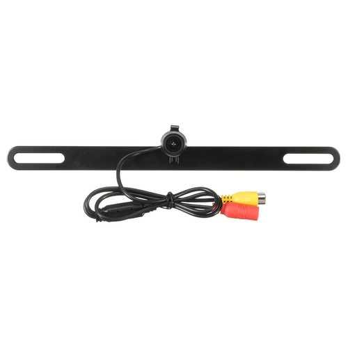 170 Degree Car Reversing Camera License Plate Backup Parking Rear View Night Vision LED