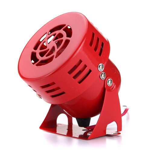 110dB 12V Car Truck Alarm Police Fire Loudspeaker PA Siren Horn 30W Waterproof