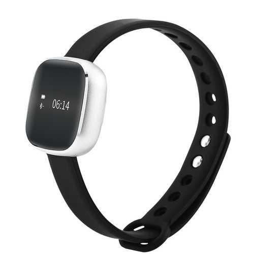 V8 OLED IP67 Waterproof Smart Watch Bracelet Pedometer Health Monitor Metal Main Body