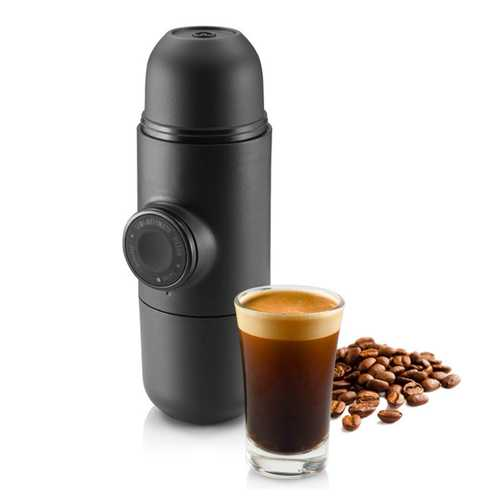 KCASA KC-COFF20 Portable Manual Coffee Maker Hand Espresso Maker Mini Coffee Machine Coffee Pot Outdoor Travel design