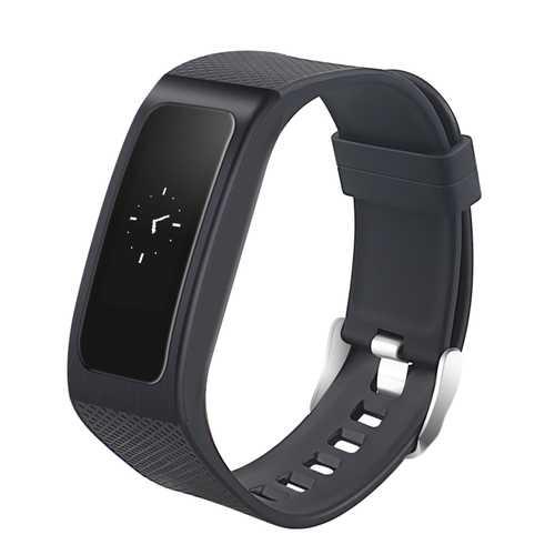 DB04 OLED Heart Rate Blood Pressure SPO2 Sleep Monitor IP67 Waterproof Smart Watch Bracelet