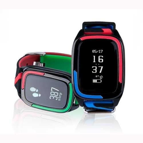 DB05 OLED Heart Rate Blood Pressure Sleep Monitor IP67 Waterproof Smart Watch Bracelet