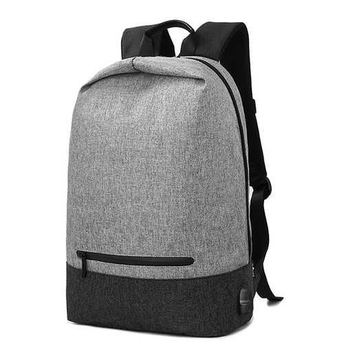 Men Multifunction Travel Backpack Laptop Backpack with USB Charging Port