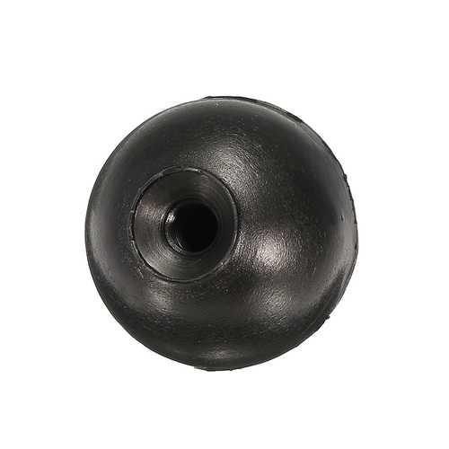 10Pcs M6 Threaded Black Ball Knob Machine Control Handle 32mm Diameter Ball Nut