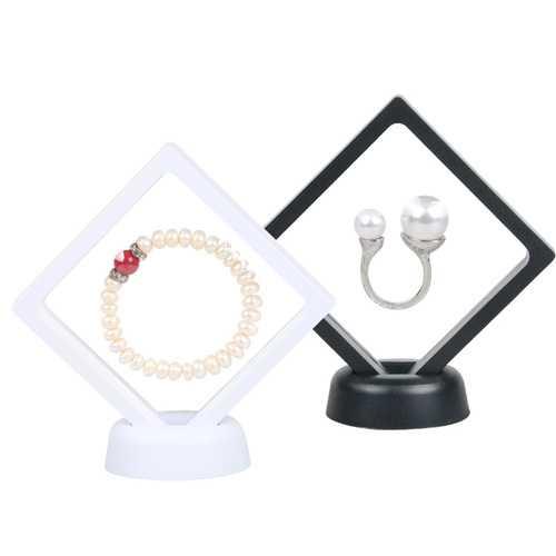 Nail Display Case Jewelery Earrings Stand Bangle Bracelet Display Box Rings Holder