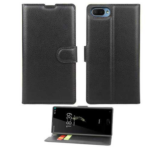 Flip Magnetic PU Leather Wallet Card Slot Stand Full Body Case For DOOGEE MIX