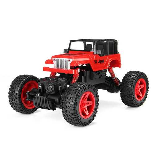 2.4Ghz 1/18  4WD 10 km/H RC Rock Crawler Car Truck Off Road Vehicle Buggy Remote Control Toy