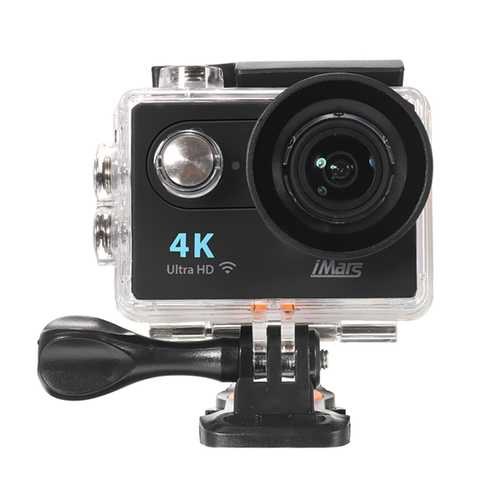 iMars H9+ Auto Record Car DVR 170 Degree Lens 2 Inch 4K Action Camera With Remote Control