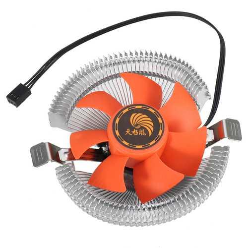 10*4cm 12V 3Pin CPU Quiet Cooling Fan Hydraulic Radiator For Intel LGA AMD