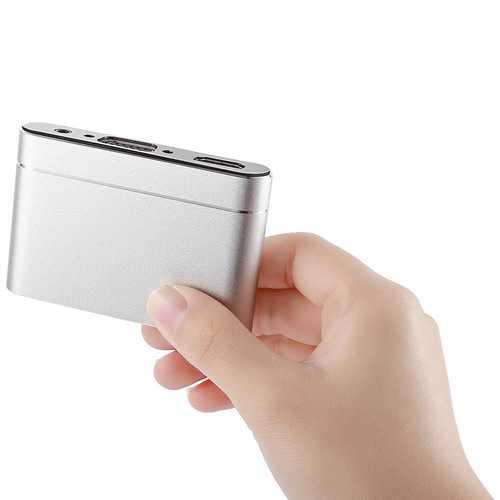 Mirascreen X6 HD VGA USB Adapter TV Stick Display Dongle Video Audio Streaming