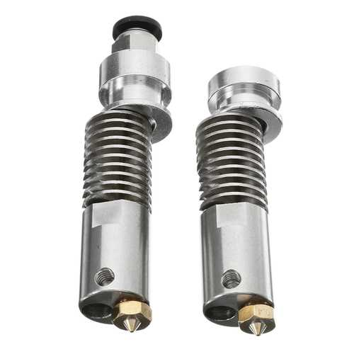 1.75mm Long/Short Distance Stainless M4 B3 Heating Extruder Nozzle Head For 3D Printer