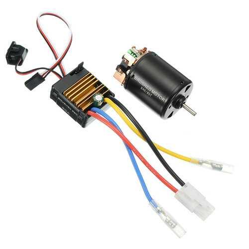540 Motor 60A ESC Carbon Brushed 1/10 RC Crawler Shaft 3.175mm RC Car Parts