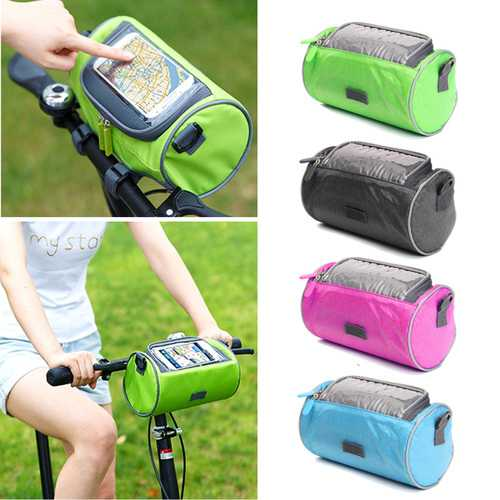 BIKIGHT  Portable Useful Bicycle Waterproof Bag for Phone with Touch Screen Waist Bag