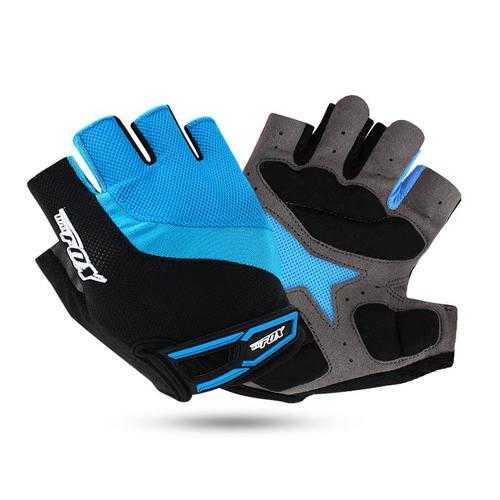 BIKIGHT Cycling Gloves Half Finger Breathable MTB Bike Gloves GEL Shockproof