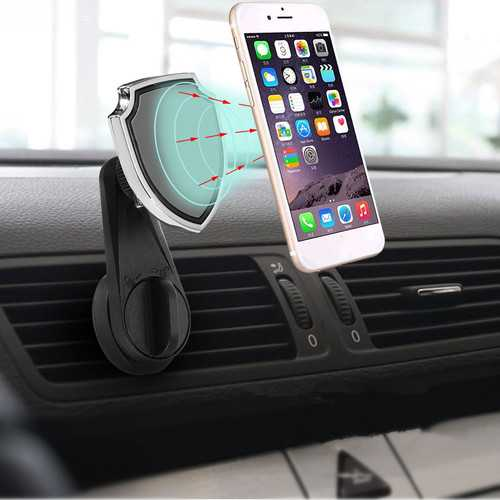 Universal Car Air Vent Magnetic Mount Outlet Holder Phone Stand for iPhone Samsung Xiaomi Huawei Non-original