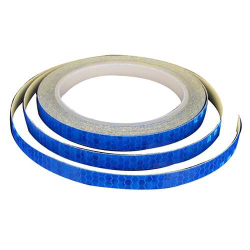 8m Warning Safety Night Reflective Strips Red White Blue Green OrangeTape Sticker For Motorcycle Car