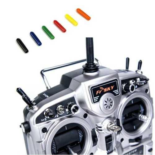 10PCS STP Rubber Switch Non-Slip Sleeve For Flysky Frsky Futaba JR RadioLink Transmitter