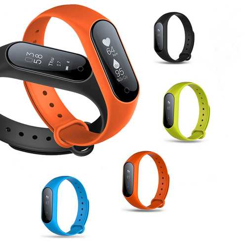 Y2 Plus 0.87 inch OLED Blood pressure Heart Rate Monitor Pedometer bluetooth Smart Bracelet