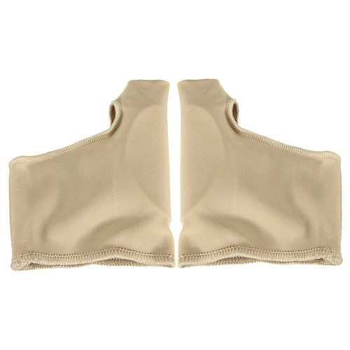 1 Pair Soft Anti Friction Toes Brace Skin Care Big Toe Straightener Corrector Ventilate