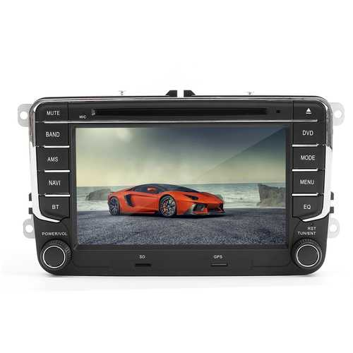 7 Inch 2 Din Car DVD Player Radio GPS Stereo Camera For VW