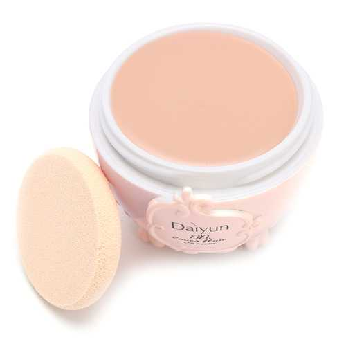 Concealer Foundation BB Cream Makeup Cosmetics Moisturizing Blemish Primer Cream With Puff