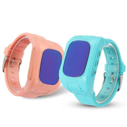 Anti Lost Children Kids Smart GPS+LBS+WIFI Tracker Wrist Watch SOS Call Phone