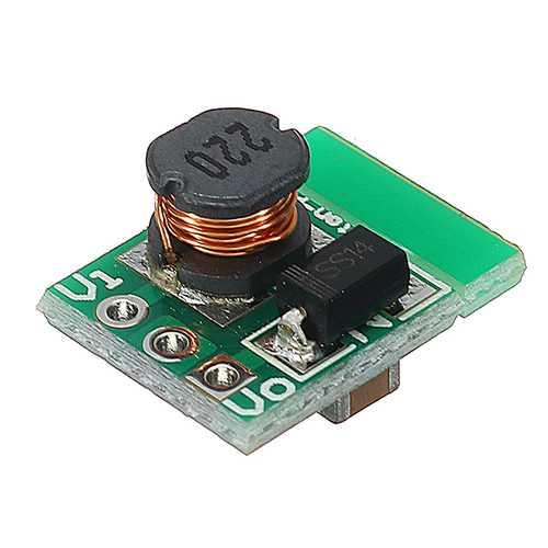 1.5V 1.8V 2.5V 3V 3.7V 4.2V 5V TO 3.3V DC-DC Boost Converter Module Board