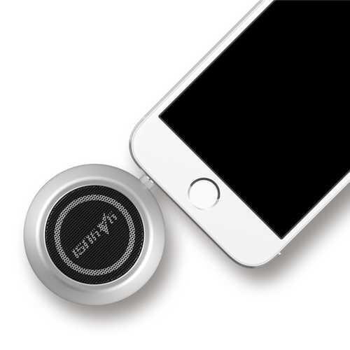 yAyusi A5 Mini Portable 3.5mm Plug Stereo Speaker External Amplifier