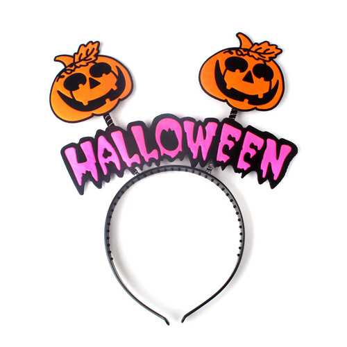 Funny Halloween Kid's Gift Hair Band Cute Cartoon Plastic Hair Accessories Wholesale for Kid