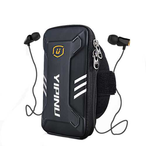 BIKIGHT Running Arm Bag Multifunctional Portable Waterproof Package Bag For Phone Under 6.0 Inch