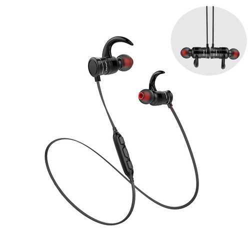Awei AK5 Sport Magnetic Adsorption Waterproof Noise Canceling In-ear Earphone Headset for Phone