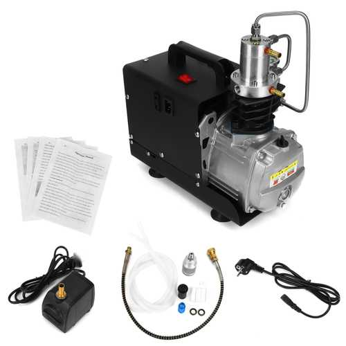 110V/220V 30Mpa High Pressure Electric Compressor Pump PCP Electric Air Pump Black