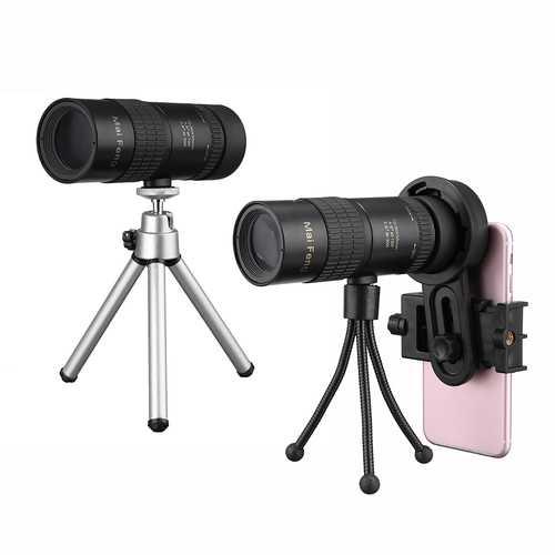 10-30x Telephoto Telescope Monocular Camera Lens+ Cell Phone Clip +Tripod Stand
