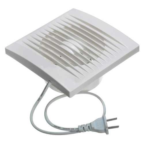 12W 100mm Ventilation Extractor Exhaust Fan Blower Window Wall Kitchen Bathroom Toilet