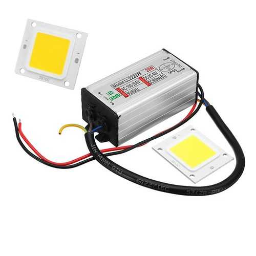 AC100-265V To DC20-40V 20W Waterproof Driver Power Supply Constant Current With LED SMD Chip