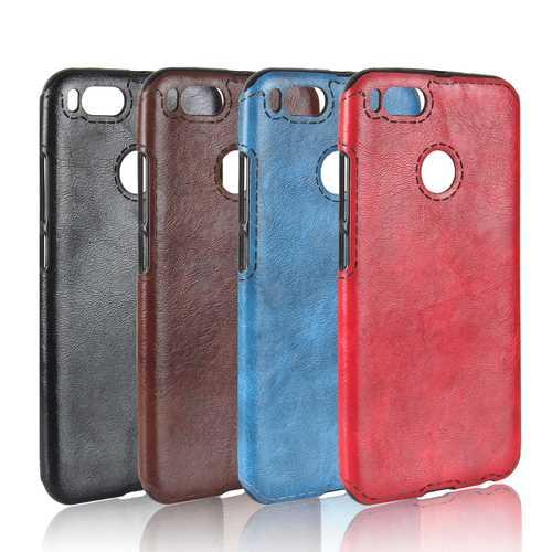 Bakeey Luxury Retro PU Leather Soft TPU Protective Case For Xiaomi Mi A1 / Xiaomi Mi 5X Mi5x