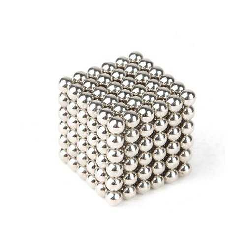 216Pcs Per Lot 3mm Magnetic Ball Buck Ball Intelligent Stress Relive Toys Silver