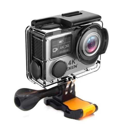 EKEN H6s EIS 4K Wifi Sport Action Camera 170 Degree Wide Angle Fisheye Lens HD OLED Dual Screen