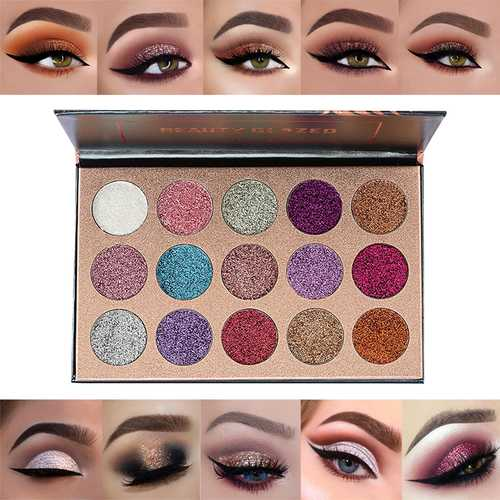 15 Colors Shimmer Eye Shadow Palette