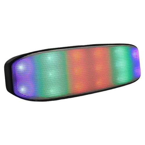 Colorful LED Light Wireless bluetooth Speaker HiFi Music Stereo TF Card Aux Subwoofer