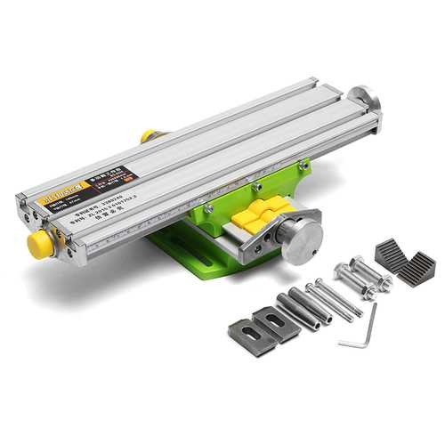 MINIQ BG6330 Mini Precision Milling Machine Worktable Multifunction Drill Vise Fixture Working Router Table
