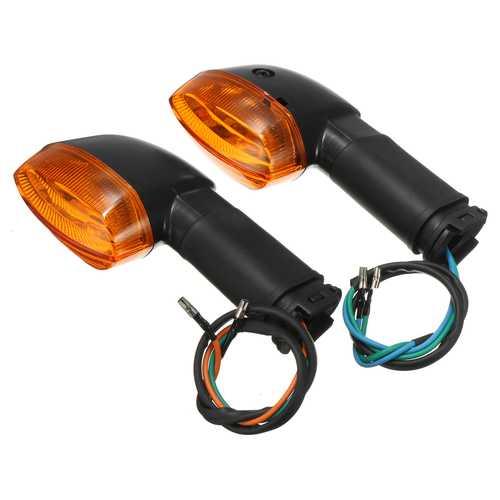 Front Rear Turn Signals Indicators Light Lamp For Yamaha R1 R6 FZ1 FZ6 Amber