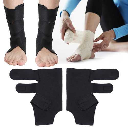 Breathable Foot Ankle Support Brace Joint Sprain Fracture Recovery Stabilizer