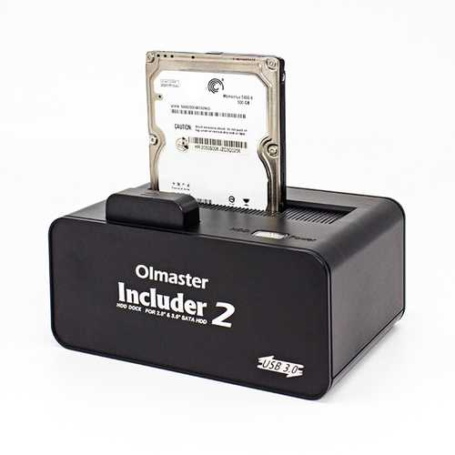 5Gbps Super Speed USB 3.0 1-Bay SATA Hard Drive enclosure  for 2.5'' 3.5'' HDD SSD