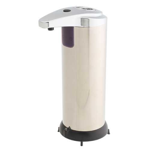 Automatic Soap Liquid Dispenser Stainless Steel Hands Free IR Sensor Touchless