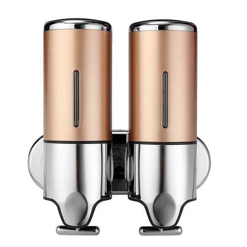 1000mL Wall Mounted Bathroom Shower Body Lotion Shampoo Liquid Soap Dispenser