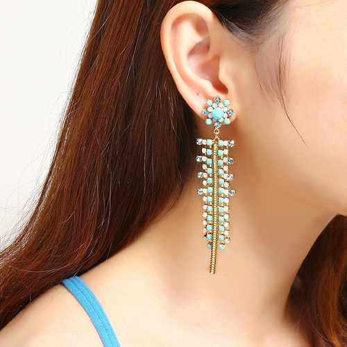 JASSY® Bohemian Exquisite Gold Plated Earring Gift For Women