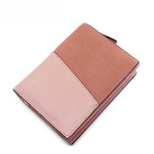 11 Card Slots Women PU Leather Minimalist Elegant Wallet Casual Card Holder Purse Clutch Bag