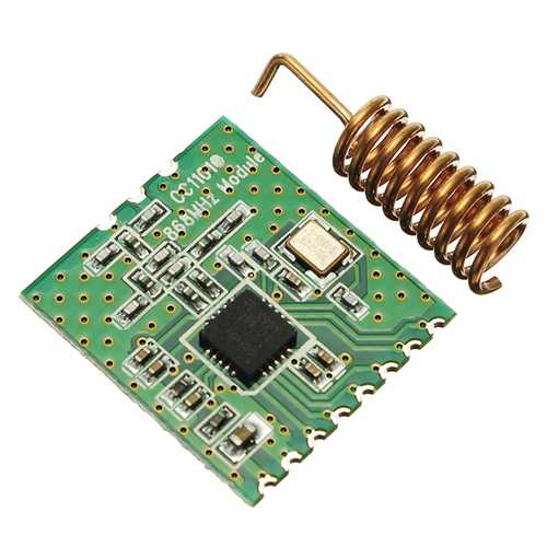 3pcs CC1101-868MHz 2-3.6V RF Low Power UHF Wireless Transceiver Module 1.2K To 500kps 64 Bytes SPI Interface Wake-On-Radio Support FSK GFSK ASK/OOK And MSK